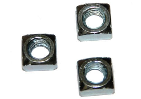 DIN 557 - čtyřhranná, zinek