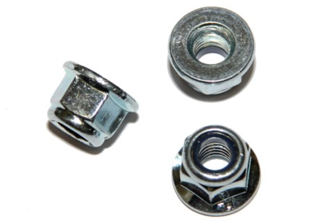 DIN 6926 - samojistná s límcem, zinek