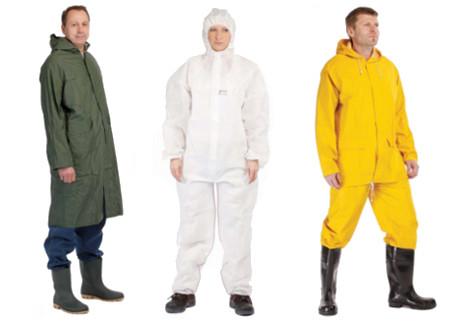Nepromokavé a jednorázové oděvy