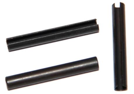 DIN 7346 - pružné s mezerou, černěné