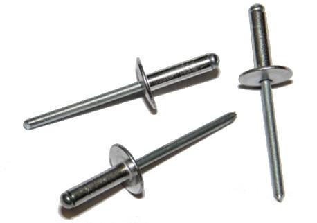 DIN 7337 - trhací, hliníkové (Al), velká hlava