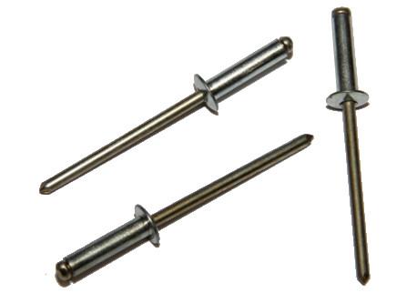 DIN 7337 - trhací, ocelové bez PÚ