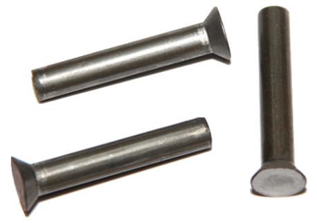 DIN 661 - zápustná hlava, ocelové bez PÚ, zinek