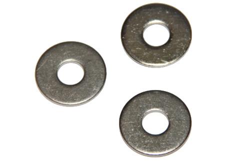 DIN 9021 - pod nýty, vnější průměr 3 x d, A2