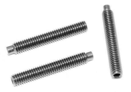 DIN 915 - s vni. imbus a s čípkem, A2,A4