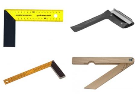 Úhelníky s měřítkem