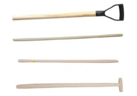 Násady na lopaty, rýče, motyky, hrábě