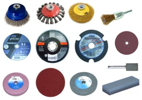 Brusné, řezné a leštící materiály