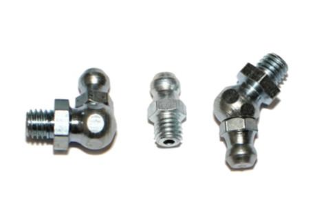 Mazací hlavice DIN 71412 - kulové. zinek