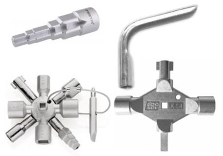 Instalatérské potřeby - Klíče